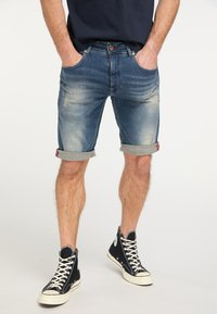 Petrol Industries - Denim shorts - blue - 0