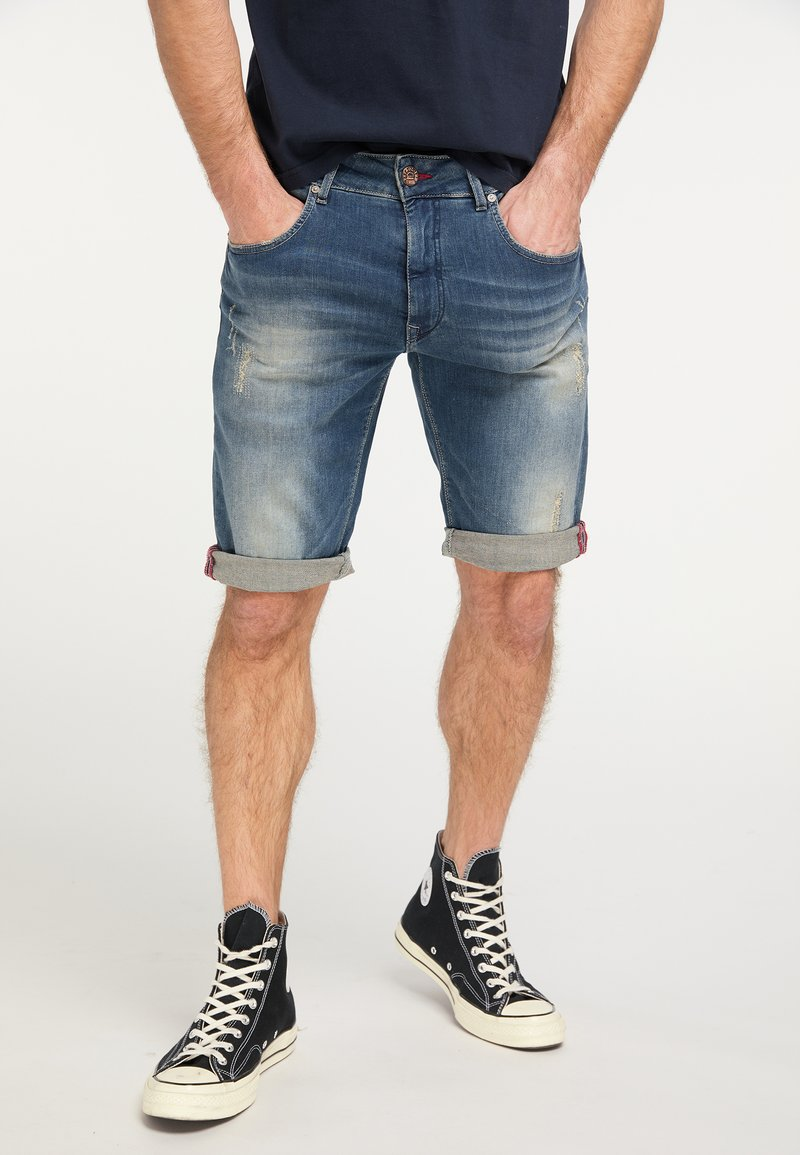 Petrol Industries - Denim shorts - blue