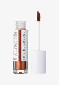 INC.redible - INC.REDIBLE FOILING AROUND METALLIC LIP PAINT - Liquid lipstick - 10075 bitches be like - 0