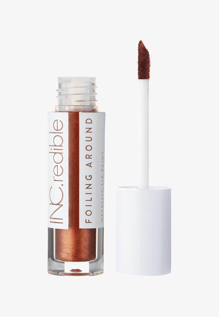 INC.redible - INC.REDIBLE FOILING AROUND METALLIC LIP PAINT - Liquid lipstick - 10075 bitches be like