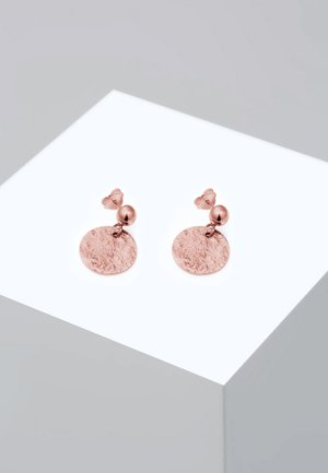 VINTAGE ANTIQUE - Earrings - rose gold-coloured