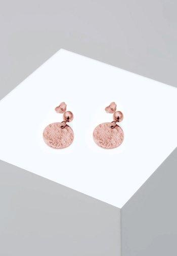 VINTAGE ANTIQUE - Earrings - rose gold-coloured