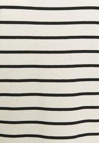 Esprit - STRIPE TEE - Long sleeved top - off white - 2
