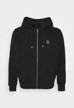 BIG TALL HOODIE - Mikina na zip - black