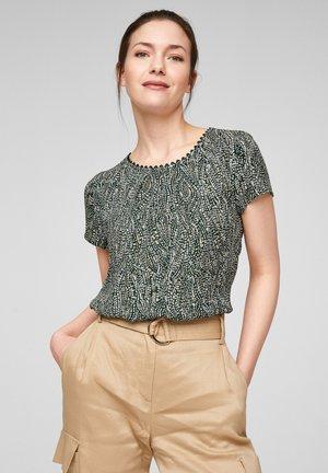 T-shirt imprimé - beige aop
