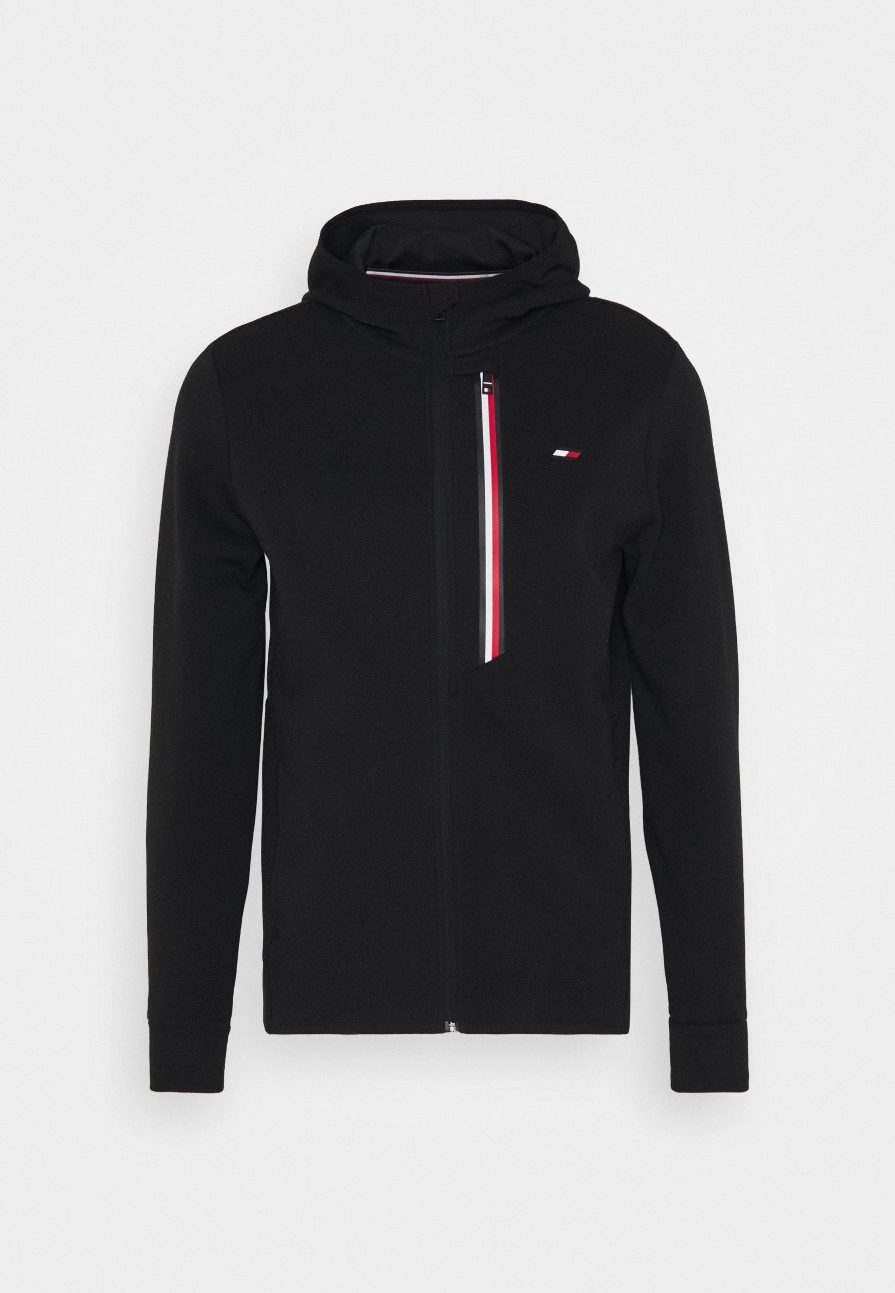 Men STRIPE DOUBLEKNIT HOODY - Zip-up sweatshirt