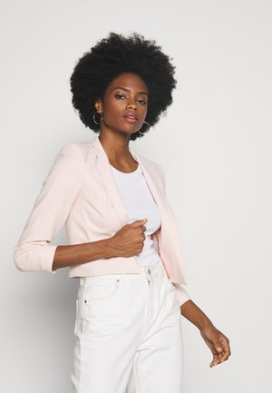CROP BOLERO - Żakiet - blush