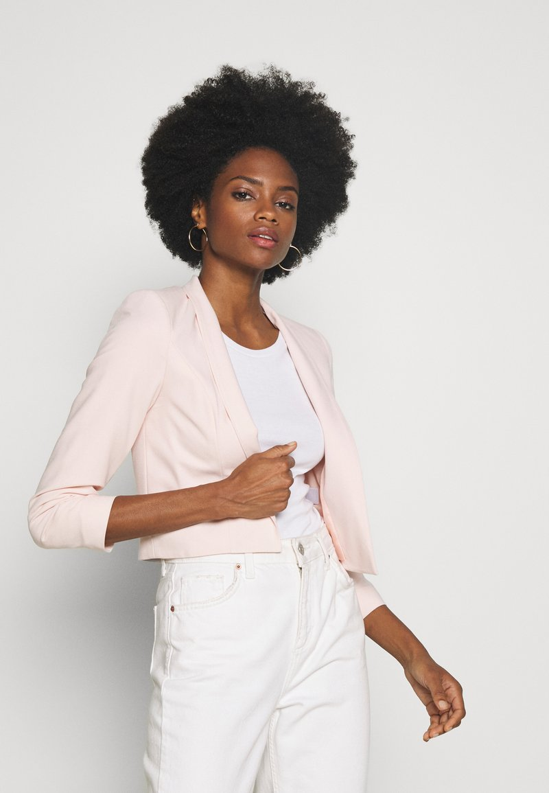 Wallis - CROP BOLERO - Blazer - blush
