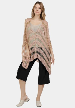 PONCHO - Cape - pink