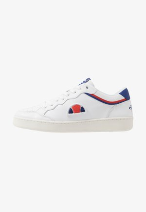 ARCHIVIUM - Sneakers - white/blu/red
