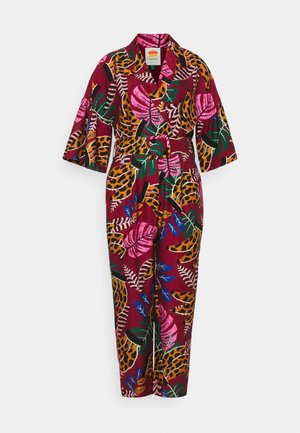EMBROIDERED BANANAS JUMPSUIT - Mono - multi