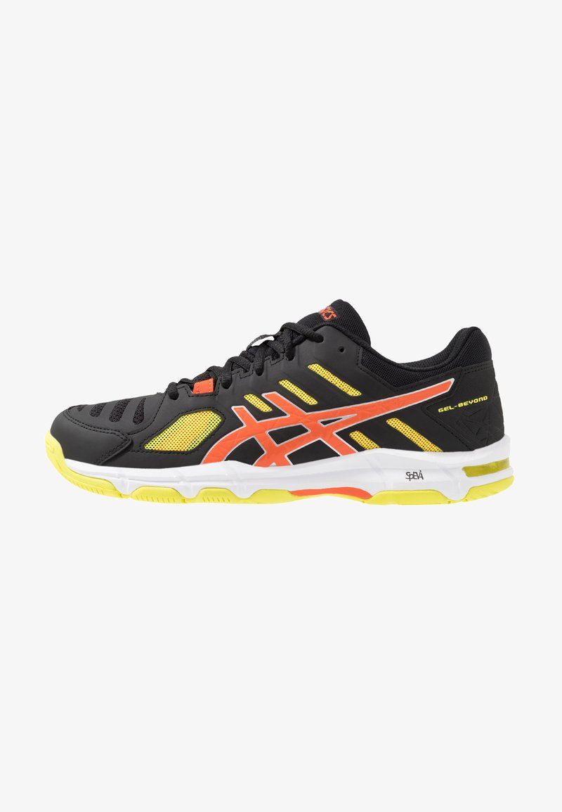ASICS - GEL-BEYOND - Volleyball shoes - black/koi