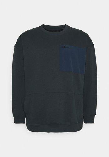 UTILITY CREW NECK - Sweatshirt - navy