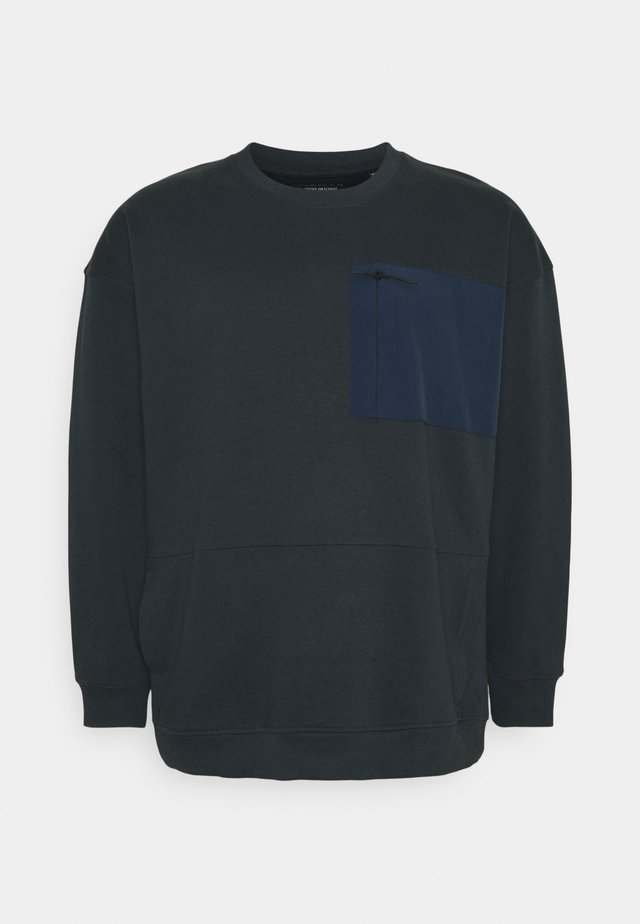UTILITY CREW NECK - Sweatshirt - navy