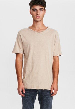 MARCEL  - T-shirt basic - humus