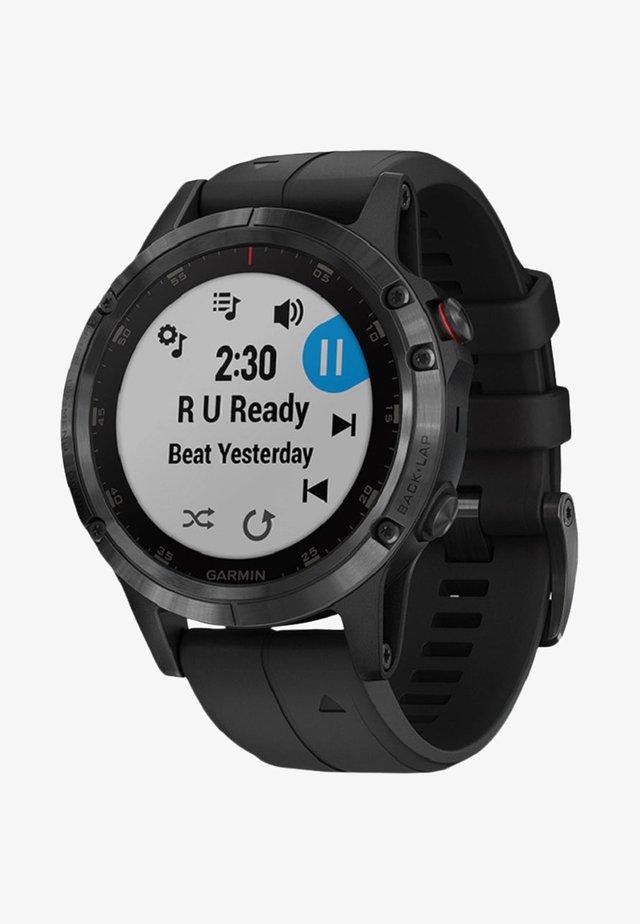 GPS-MULTIFUNKTIONSUHR FĒNIX 5 PLUS SAPHIRE - Smartwatch - black