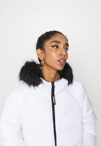 ONLY - ONLMONICA LONG PUFFER COAT  - Winter coat - bright white - 4
