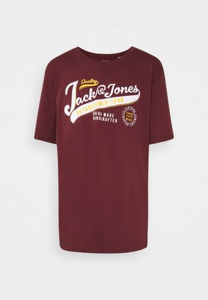 JJELOGO TEE O NECK - Print T-shirt - port royale