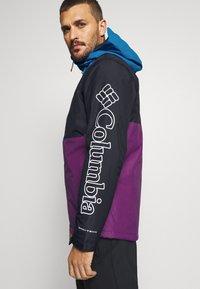 Columbia - TIMBERTURNER JACKET - Veste de snowboard - plum/black/fjord blue - 5