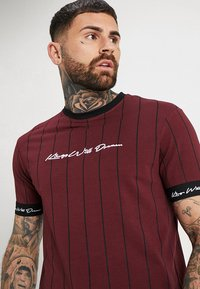 Kings Will Dream - CLIFTON - Print T-shirt - burgundy - 3