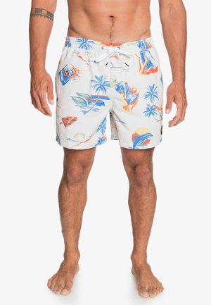 SUN DAMAGE VOLLEY - Swimming shorts - snow white