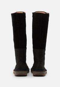 El Naturalista - FOREST - Lace-up boots - black - 3