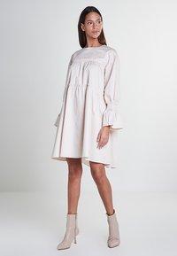 Mykke Hofmann - Day dress - beige - 1