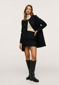 Mango - Short coat - zwart - 1