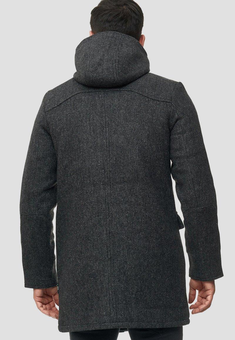 INDICODE JEANS LIAM - Wintermantel - black/schwarz mQk4sJ