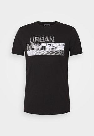 JCOBOOSTER TEE CREW NECK - T-shirt print - black
