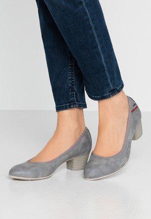 Classic heels - graphite