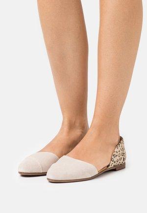 JUTTI DORSAY - Ballet pumps - macademia/cheeta