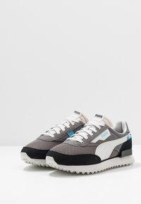 Puma - RIDER - Sneakers - black/castlerock - 2