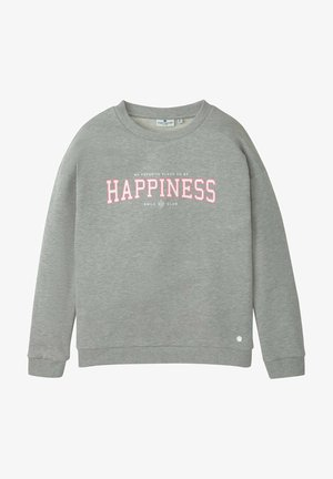 Sweatshirt - drizzle melange|gray