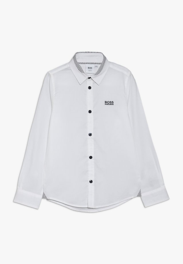 LANGARM SLIM FIT - Camicia - weiss