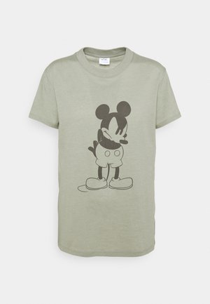 CLASSIC MICKEY - T-shirts med print - light sage