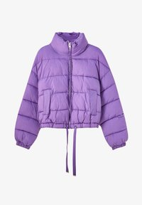 PULL&BEAR - Winter jacket - mottled purple - 6