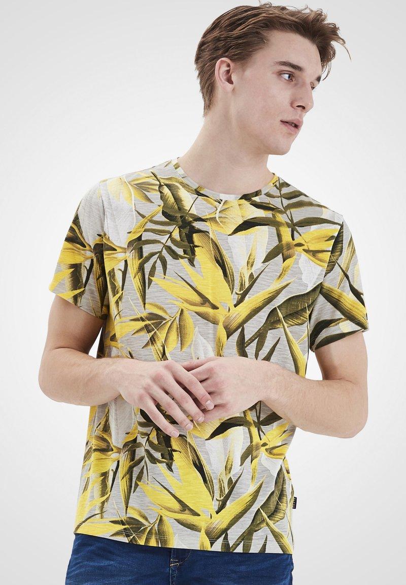 Blend - Print T-shirt - martini olive