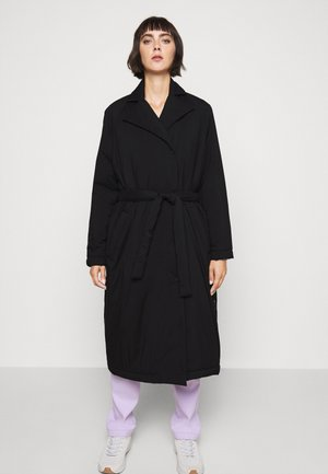 ESTHER - Classic coat - black
