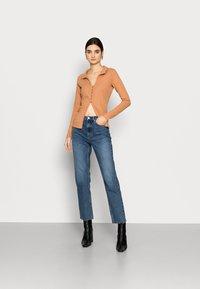 Fashion Union Tall - FENNEL CARDI - Chaqueta de punto - orange - 1