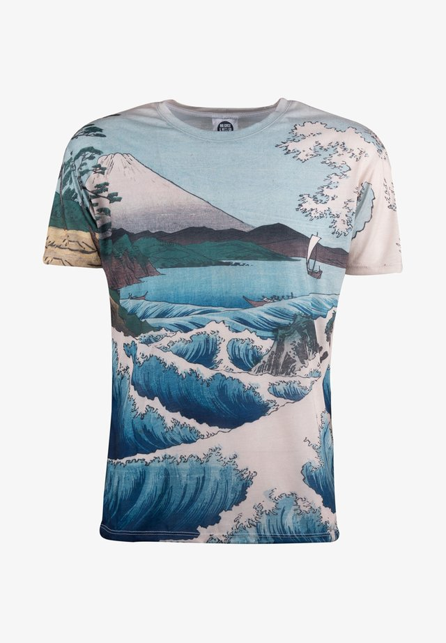THE SEA OF SATTA  - T-shirt print - beige