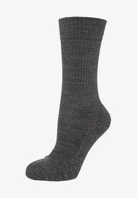 FALKE - ACTIVE WARM - Socks - asphalt meliert - 0