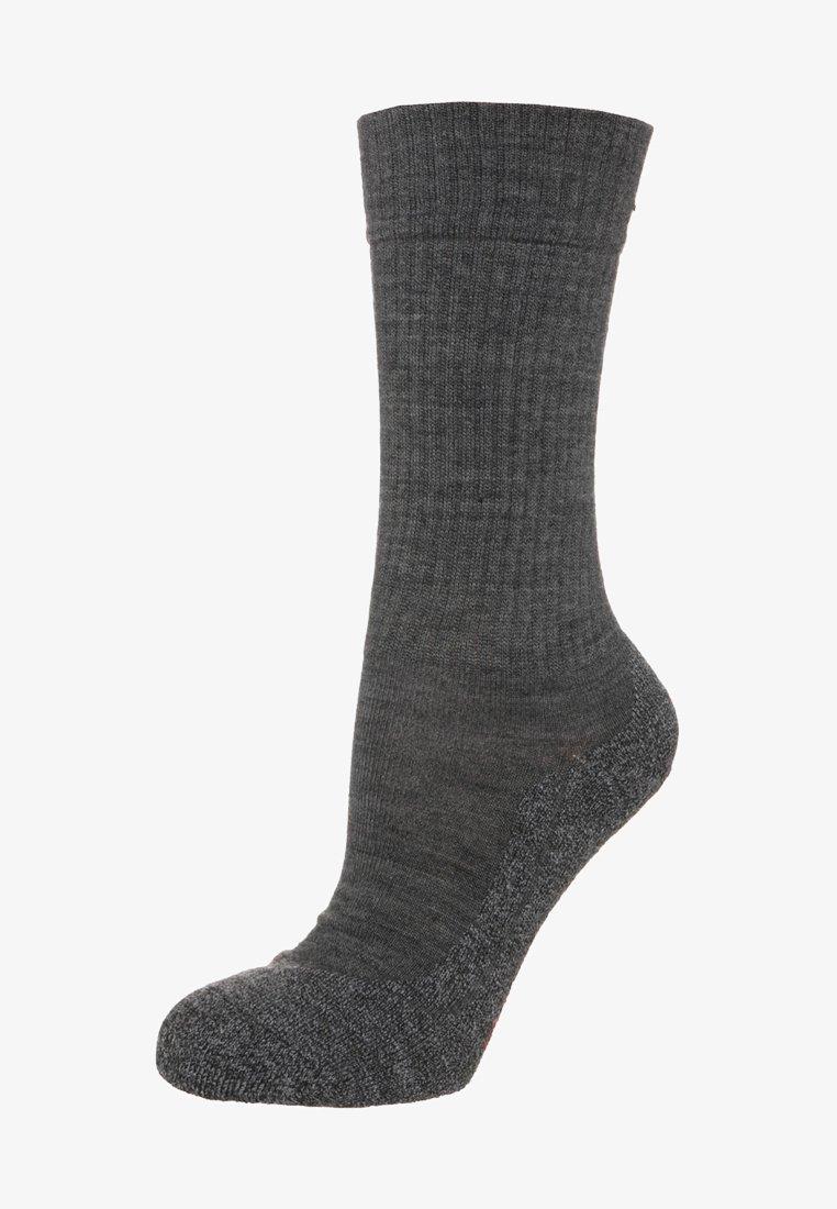 FALKE - ACTIVE WARM - Socks - asphalt meliert