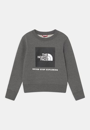 BOX CREW UNISEX - Sweatshirt - grey