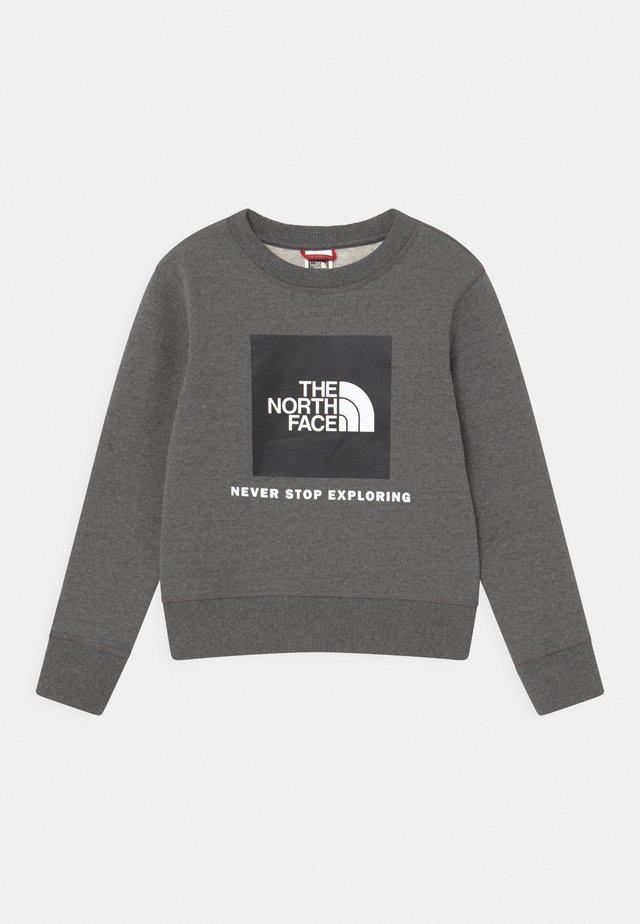 BOX CREW UNISEX - Sweatshirt - grey