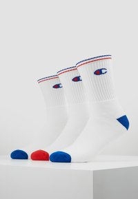 Champion - CREW PERFORMANCE - Socks - white/blue/red - 0