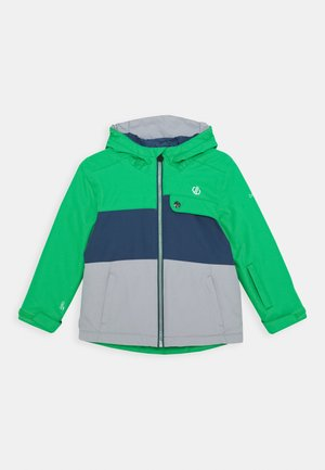 ENIGMATIC JACKET - Lyžařská bunda - green/grey/dark blue