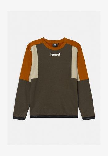 SANDER UNISEX - Sweatshirt - black olive