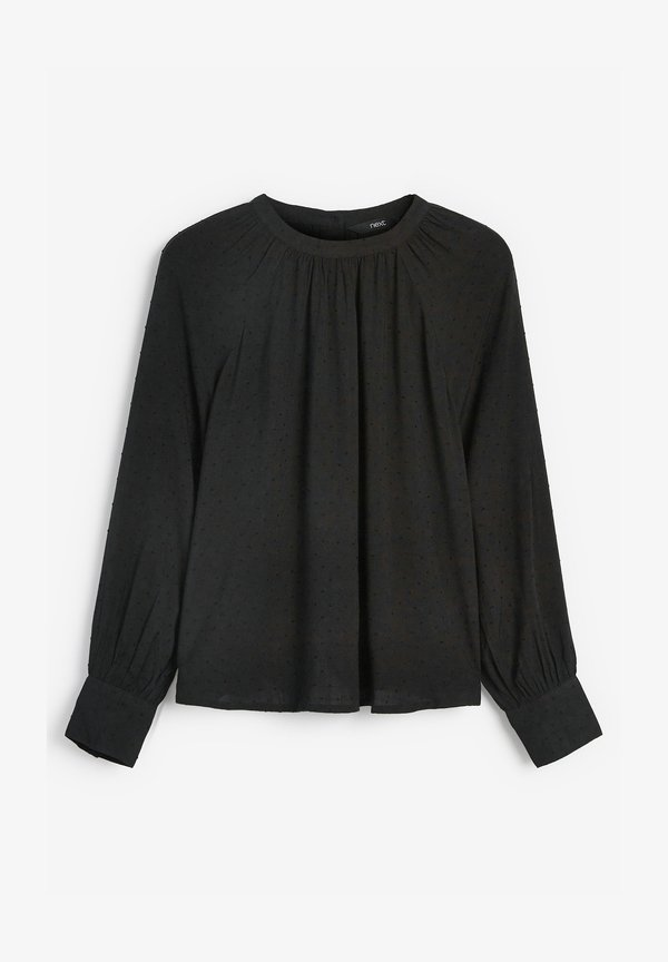Next Bluzka - black/czarny HBPW