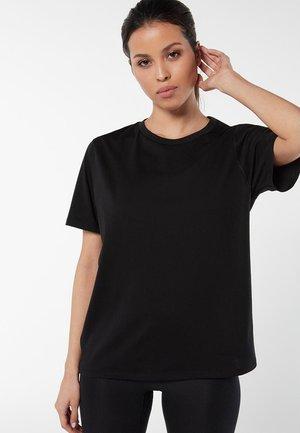 AUS SUPIMA® - Basic T-shirt - nero